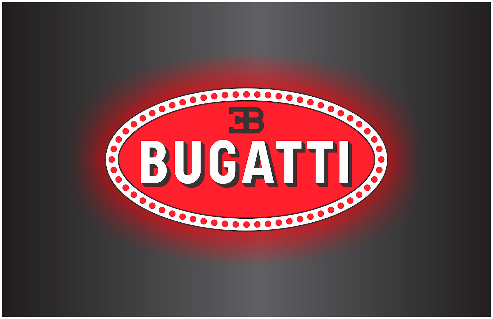 Black And Grey Wallpaper Le Logo Bugatti Les Marques De Voitures