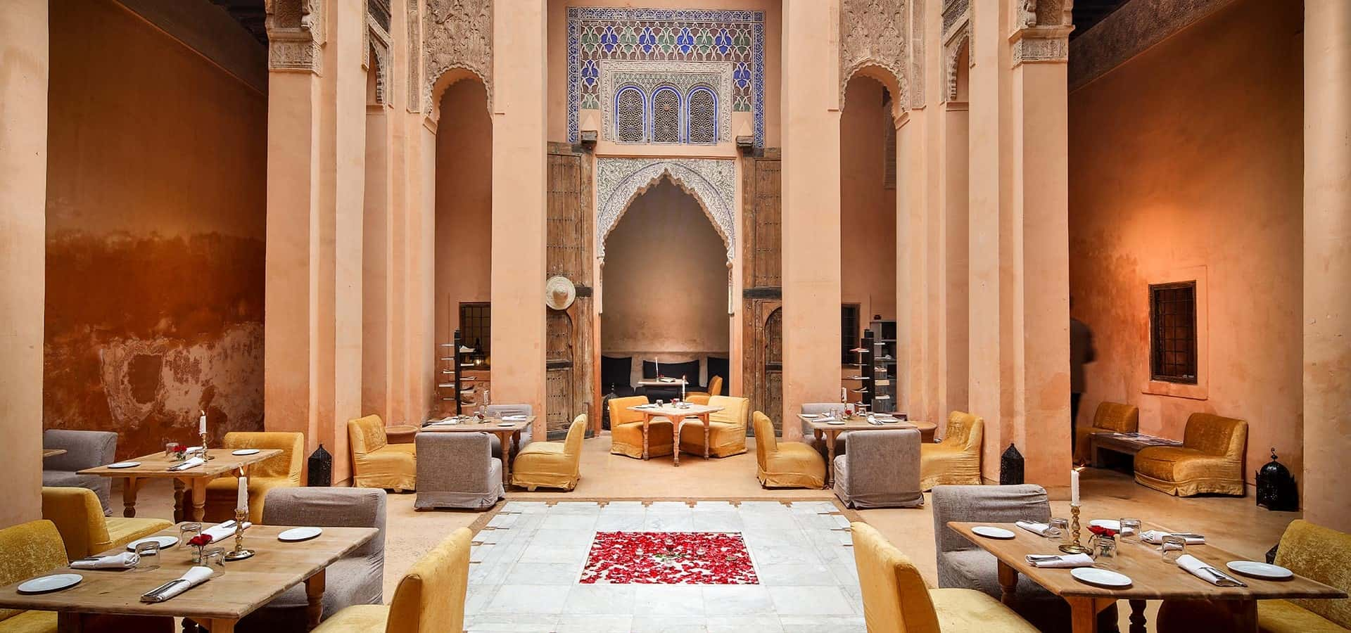 Salon Marrakech Exceptional Riads And Restaurants In The Medinas Of Marrakech And Fez