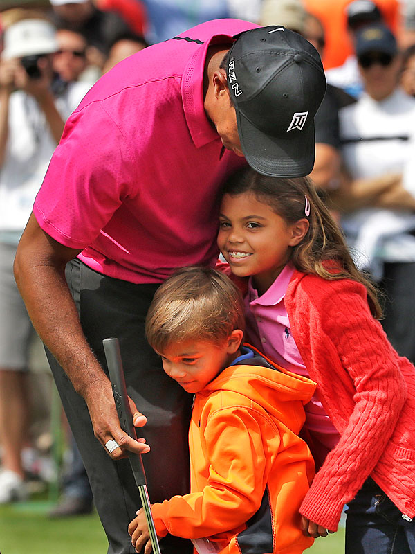 tiger woods children photos 2016
