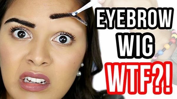 Short Wigs Real Hair The Latest Weird Beauty Fad Eyebrow Wigs Jeffree Star Is