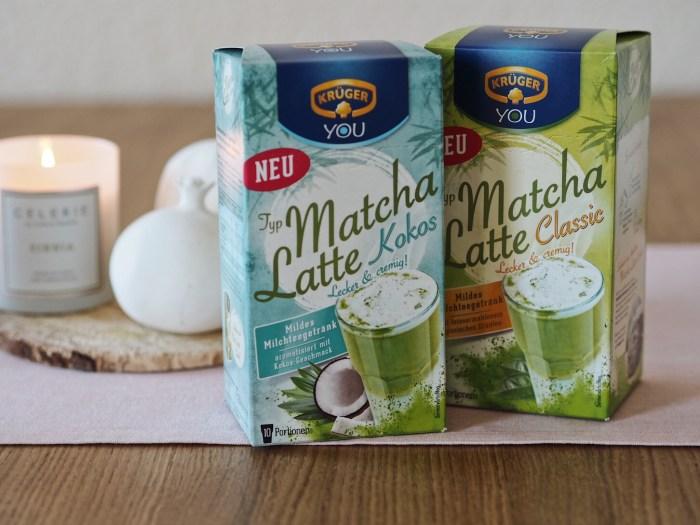 Krüger YOU Matcha Latte Verpackung