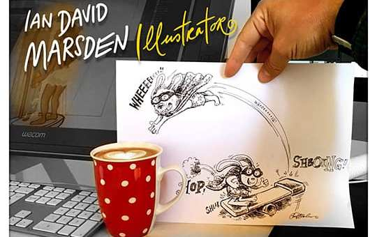 Independent Illustrator Ian David Marsden