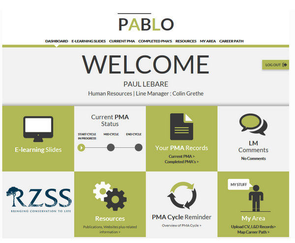 PABLO - the Online Performance Appraisal Tool - performance appraisal