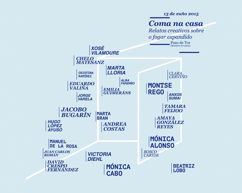 'COMA NA CASA' AT PAZO DE TOR