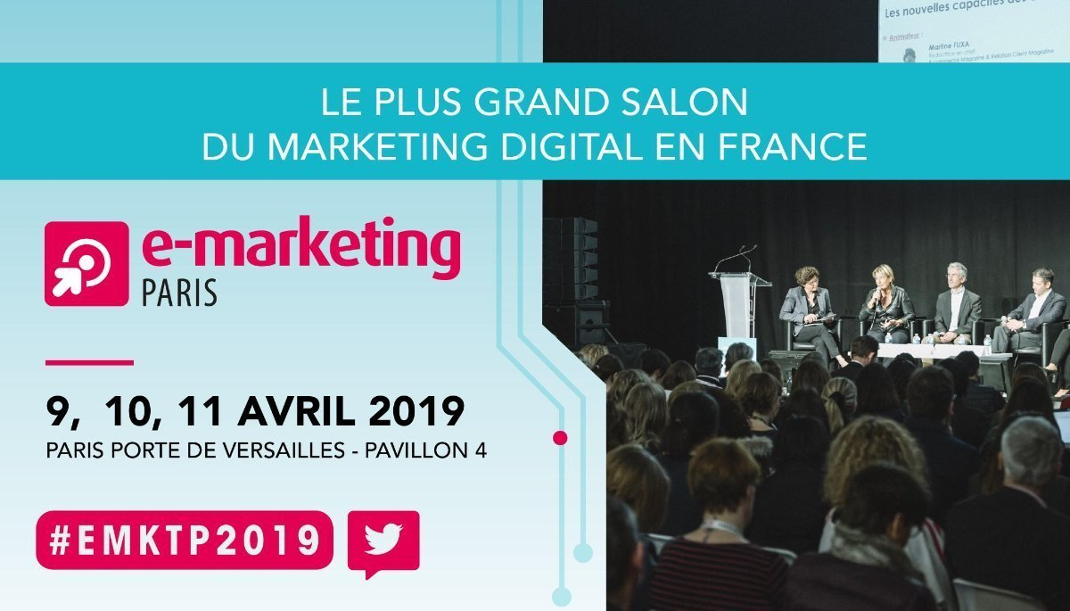 E Marketing Salon Save The Date Salon E Marketing Paris 2019 Martech Cloud