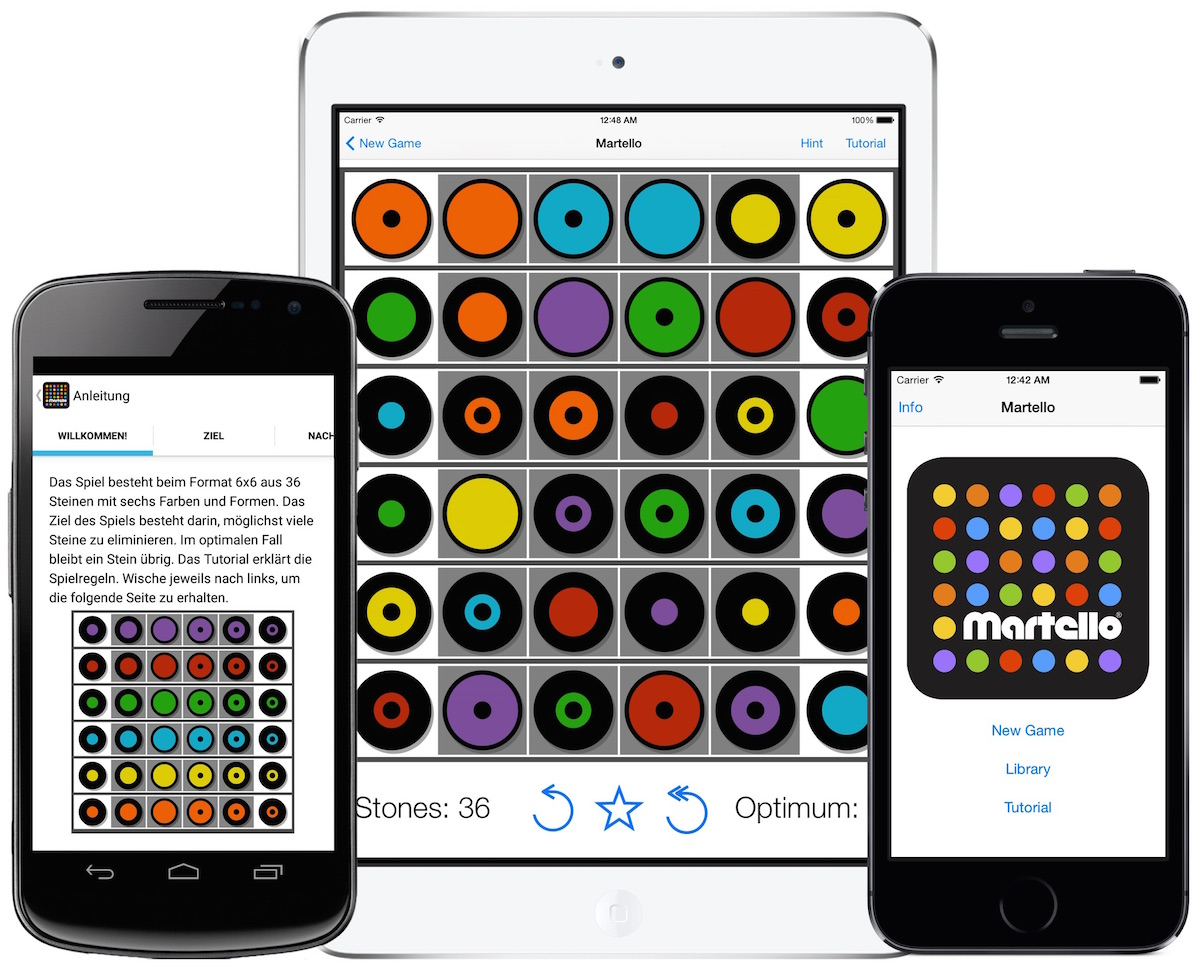 Farben App Martello A Colorful Board Game For Everyone