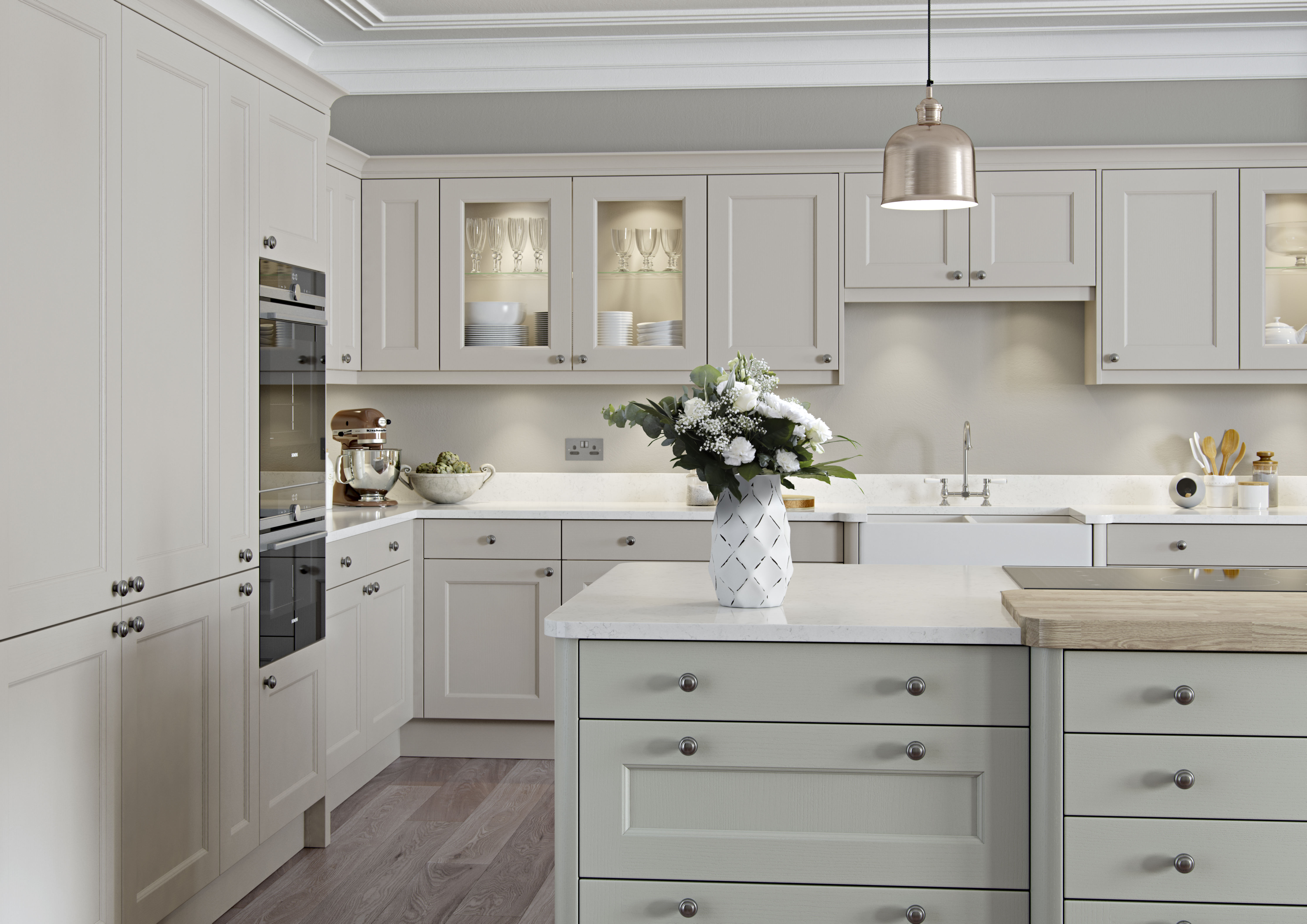 Classical Kitchens Finsbury Painted Classic Kitchen Martha Mockford