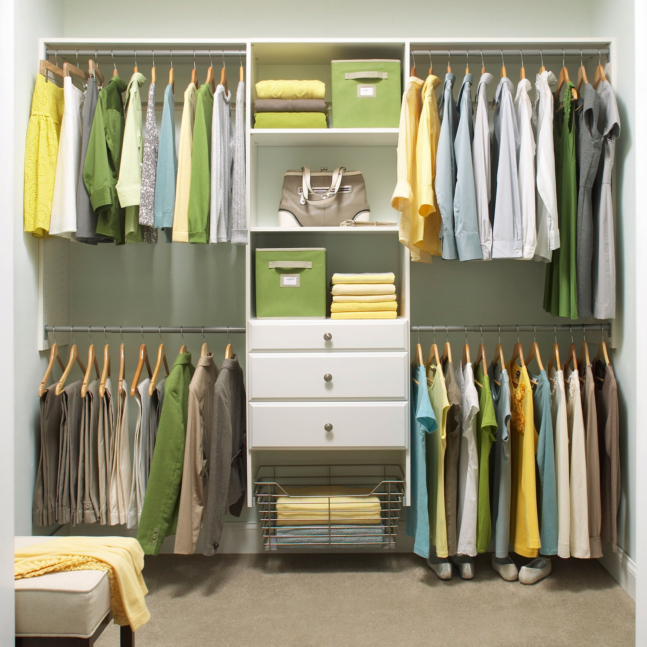 Best Closet Systems 4 Ways To Think Outside The Closet Martha Stewart