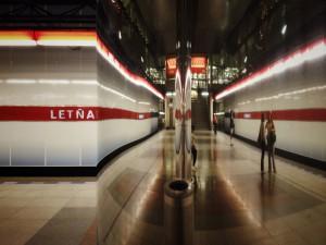 I metro jednou usíná