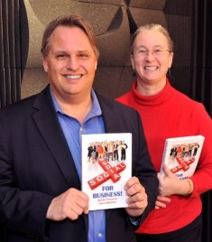 Martin Brossman and Anora McGaha - the authors of Social Media for Business