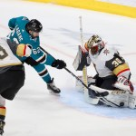 Sharks lose big to Golden Knights 7-3