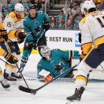 Predators beat Sharks 4-2 (photo gallery)