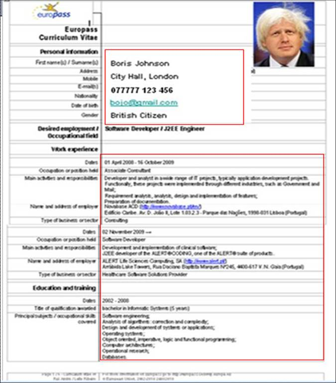 Cv Resume Example Executive Chef Acesta Jobinfo Why The Europass Is Bad For Your Career Martin Jees Blog