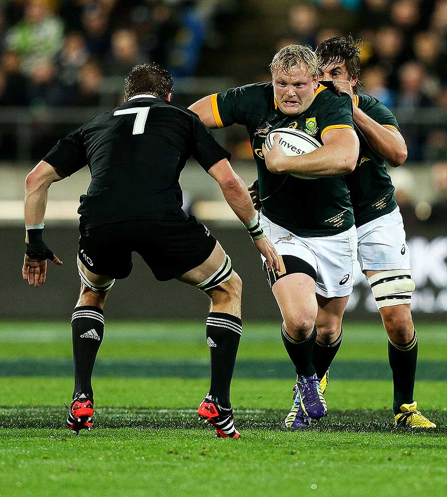 Springbock Hocker Adriaan Strauss Named 57th Springbok Captain Martin Myers