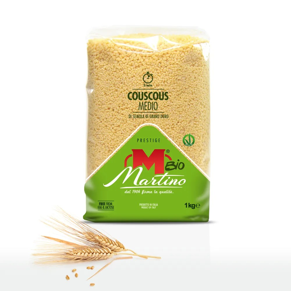 Grain Bio Organic Medium Cous Cous Martino Taste
