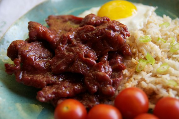 Tocilog (Tocino, Fried Rice and Egg)