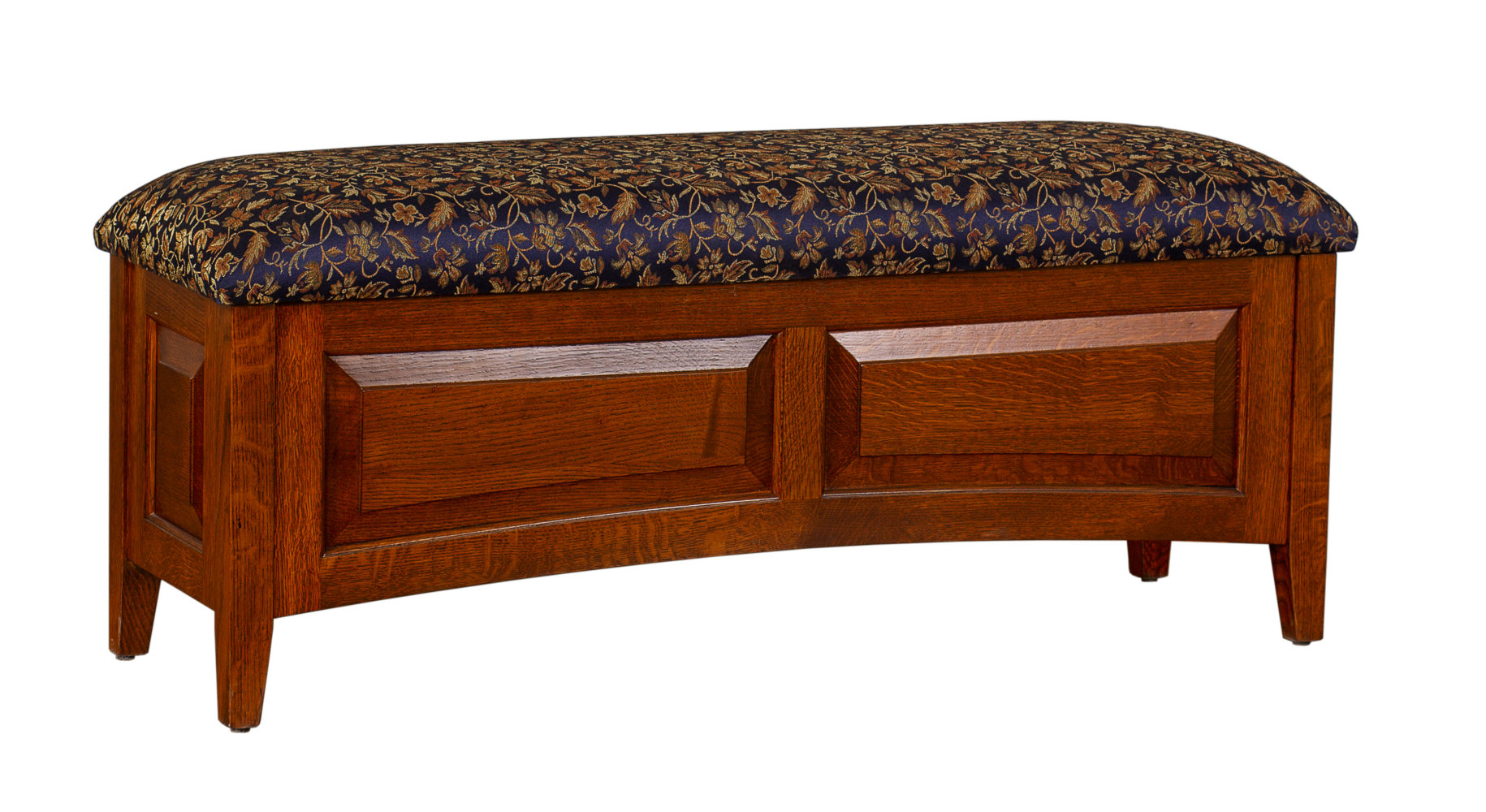 Wood Blanket Box Newburg Upholstered Blanket Chest