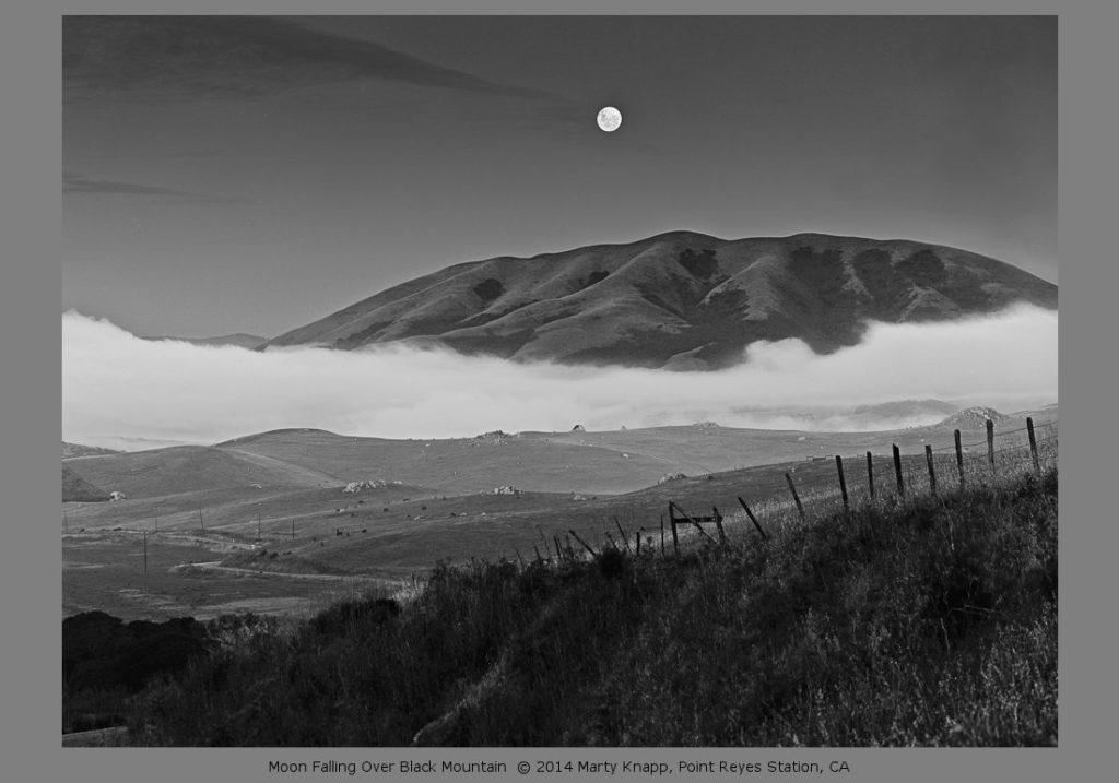Moon Falling Over Black Mountain - Marty Knapp