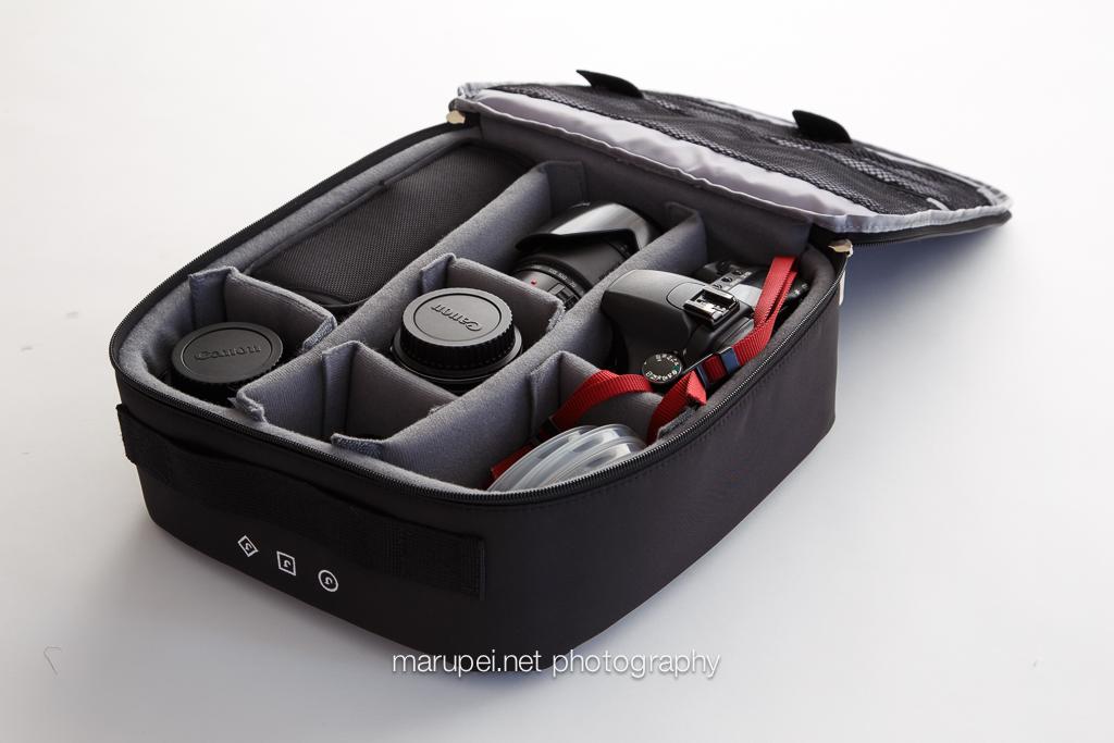 JILL-E DESIGNSのカメラ用インナーボックスM/Lサイズを比較してみた