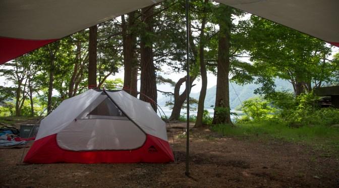 浩庵キャンプ場でコラボキャンプ Part2