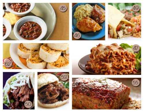 dinner menu ideas