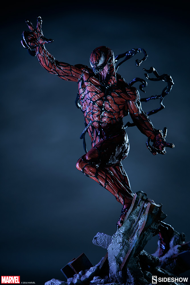 Spider Man 3d Live Wallpaper Sideshow Exclusive Carnage Premium Format Statue Up For