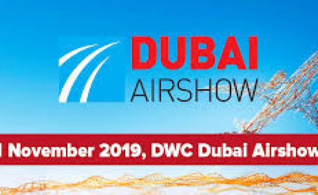 Dubai Air Show 2019 Logo Marvin Group
