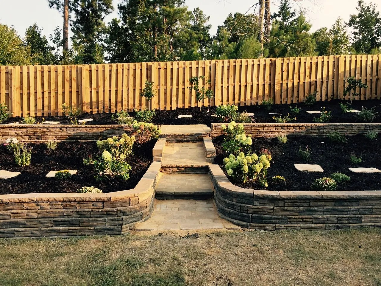 Wall Designs Pictures Retaining Walls Custom Paver Walls Marvins Brick