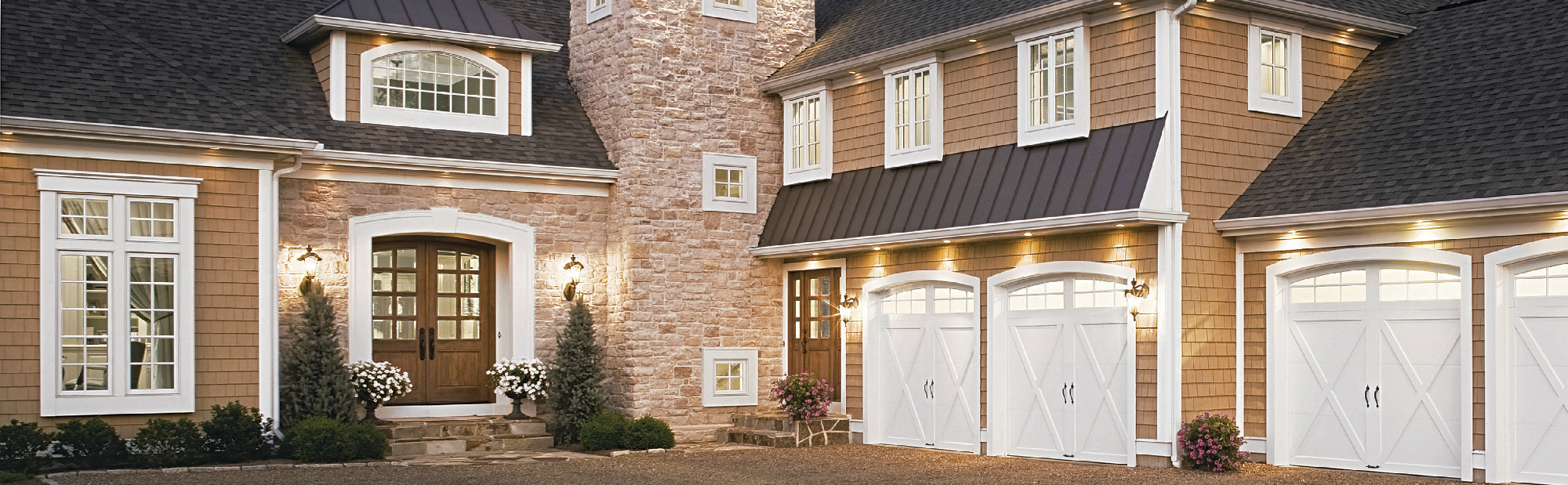 Garage And Front Doors That Match Residential Commercial Garage Doors Marvin S Garage Doors