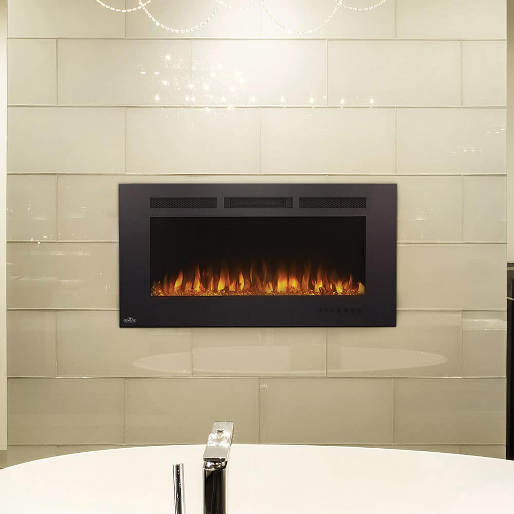 Napoleon Gas Fireplaces Napoleon Allure Phantom 42 Inch Linear Electric Fireplace
