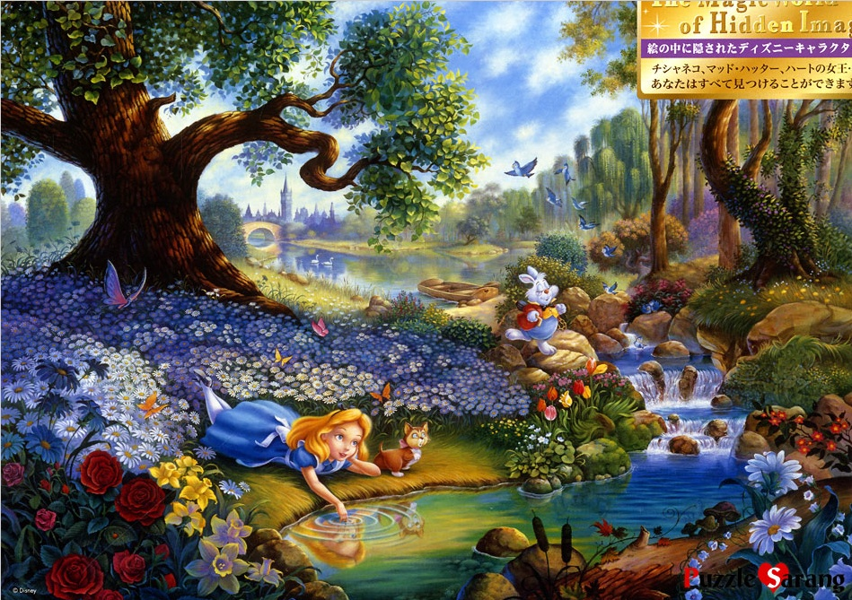 Falling Down The Rabbit Hole Wallpaper Disney Alice In Wonderland Notes Along The Way