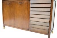 AMERICAN Martinsville Mid Century Modern china cabinet hutch