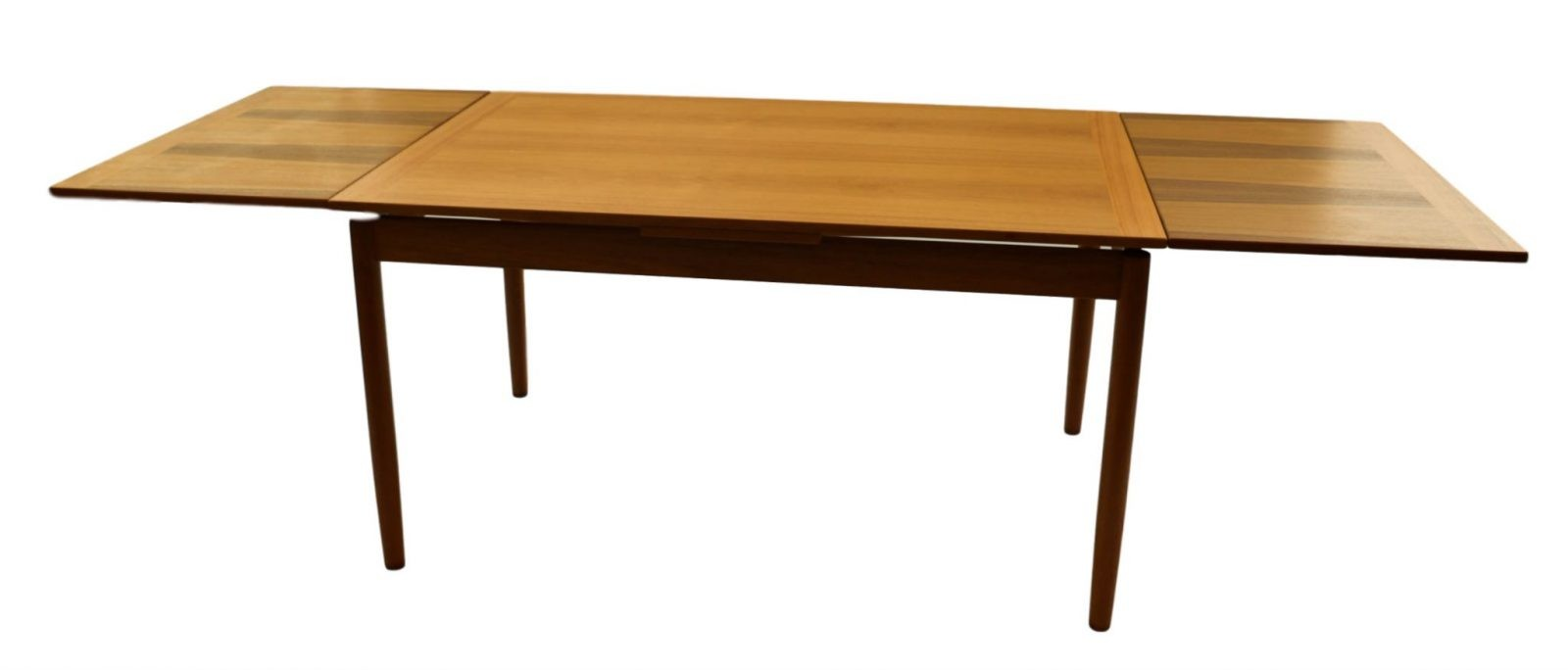Modern Extending Dining Table Danish Mid Century Modern Teak Extendable Dining Table