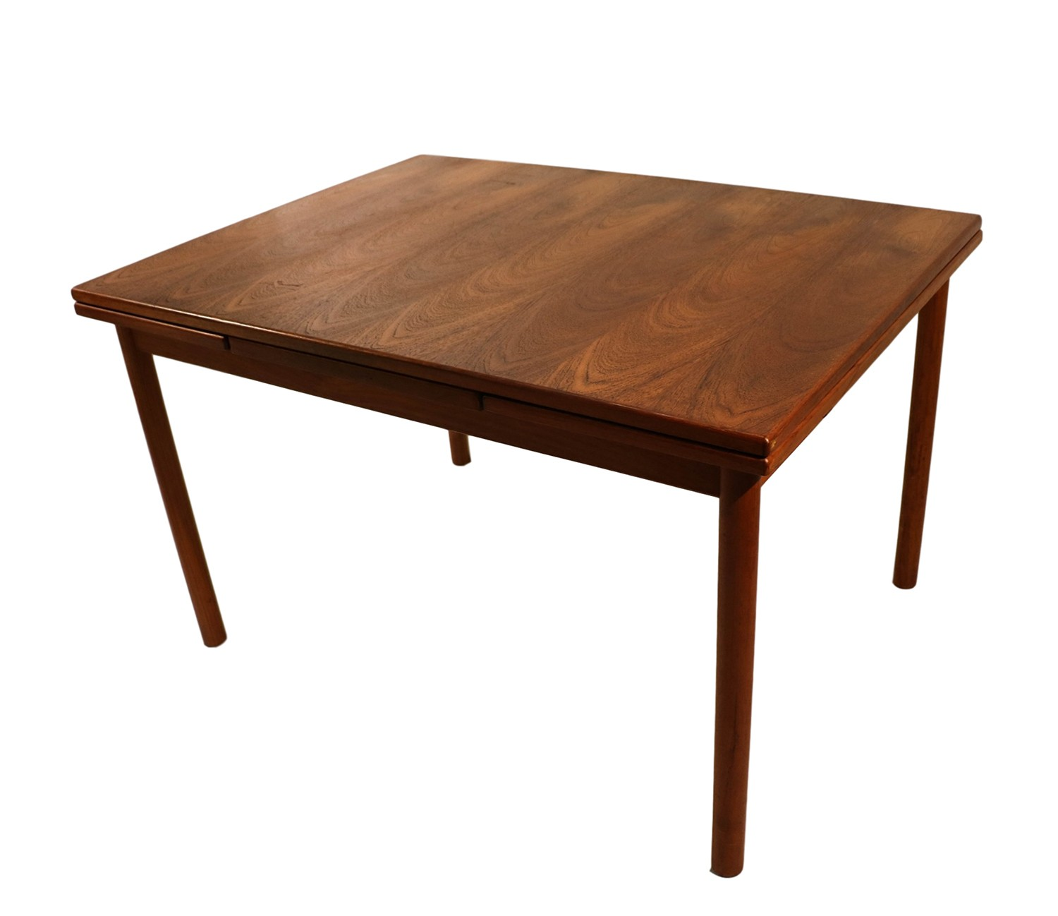 Modern Extending Dining Table Danish Modern Teak Extendable Dining Table
