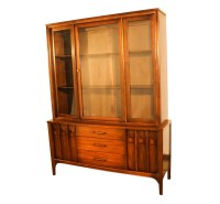 Kent Coffey Perspecta Mid Century Modern hutch China Cabinet