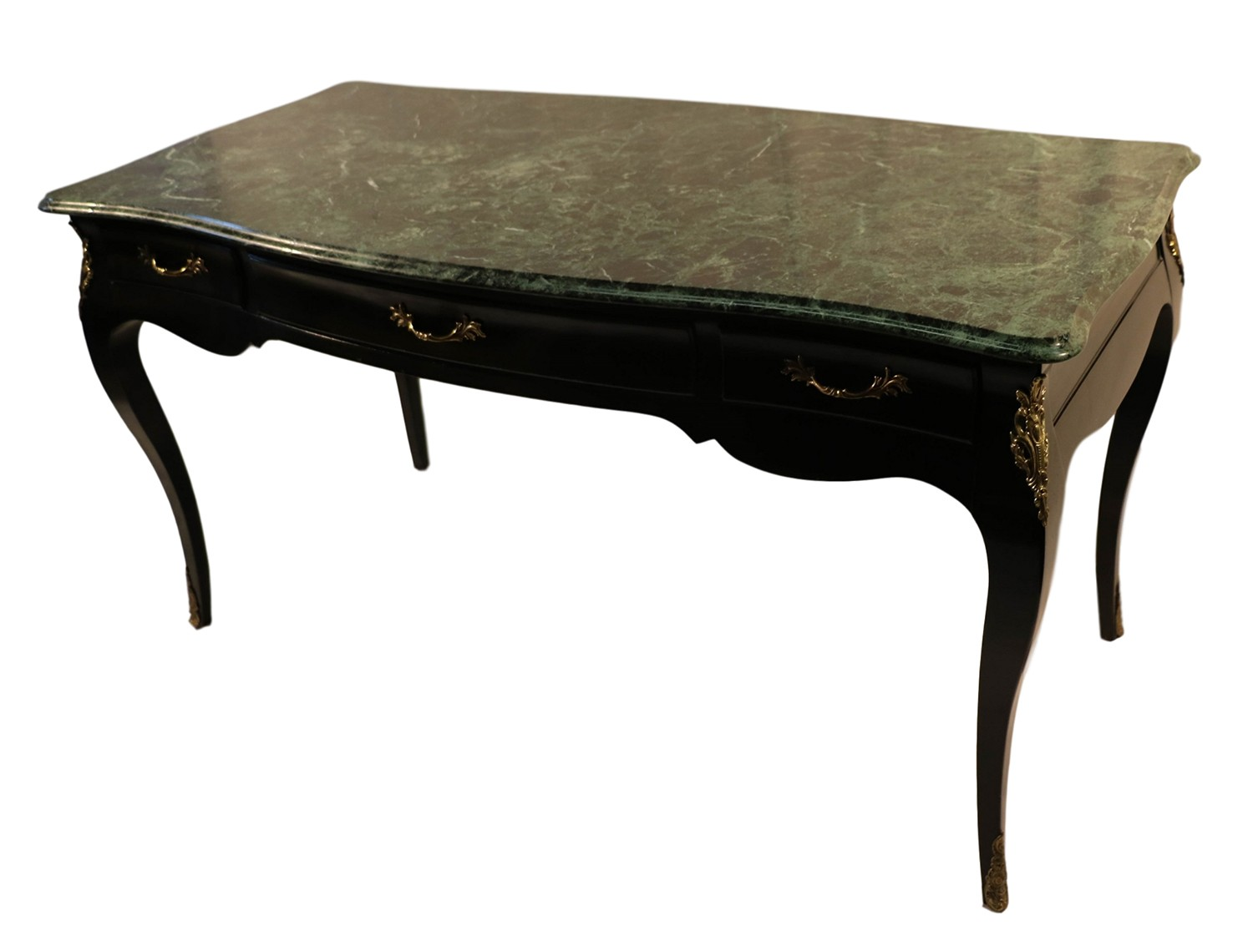 Sofa With French Writing Louis Xv Style Bureau Plat Marble French Writing Desk