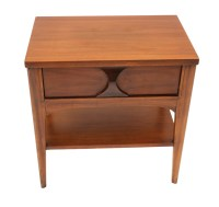 Mid Century Modern Kent Coffey side table Nightstand