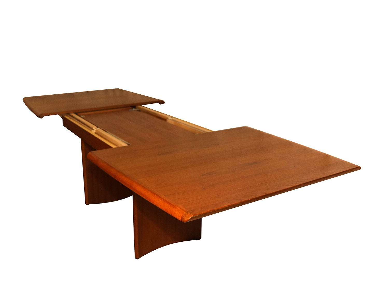 Modern Expandable Dining Table Danish Modern Teak Expandable Dining Table