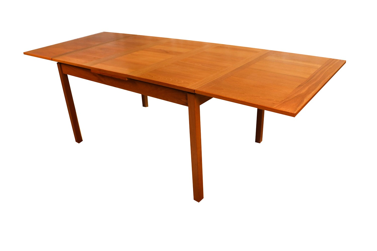 Modern Extending Dining Table Danish Modern Teak Extendable Dining Table Vejle Stole