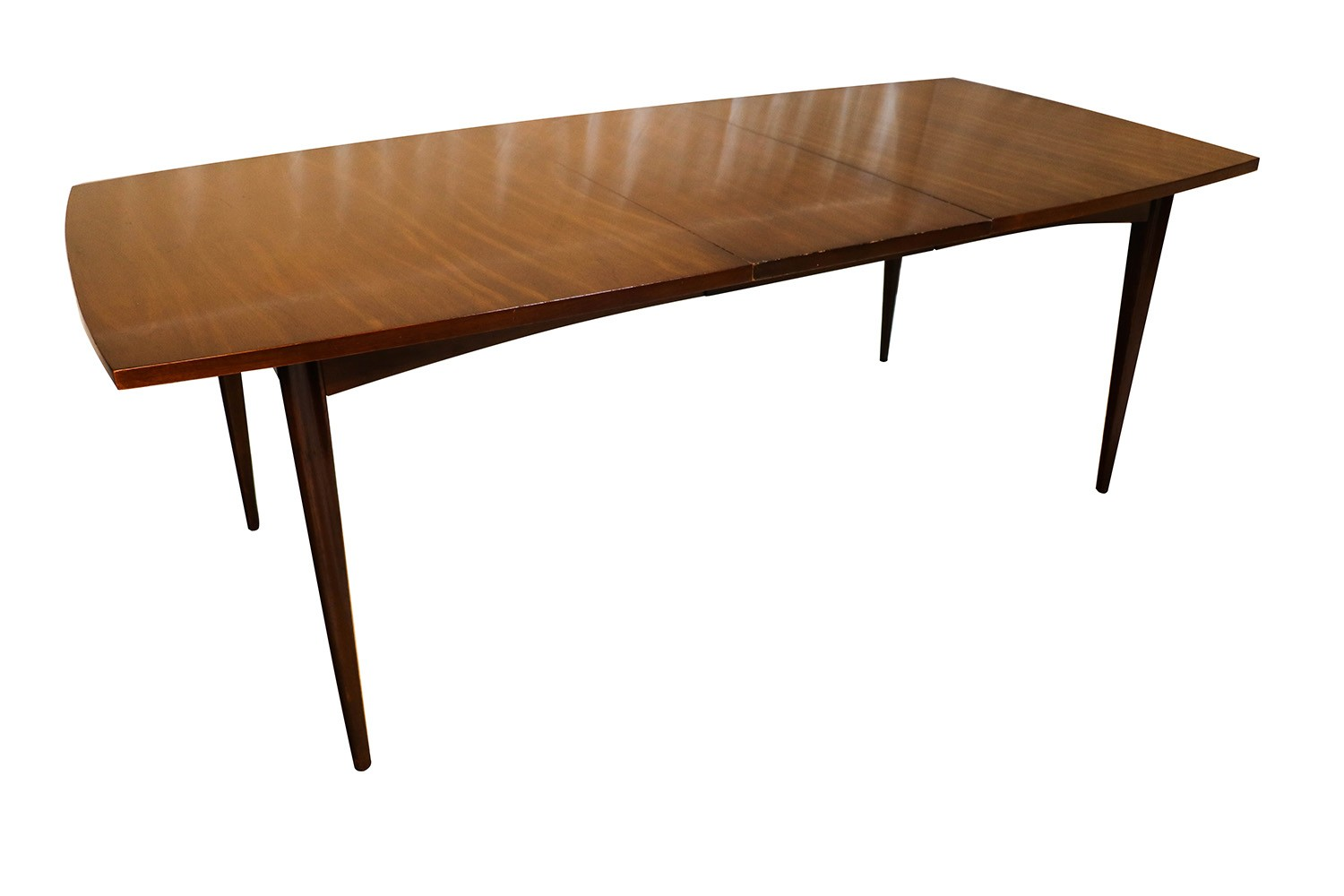 Modern Expandable Dining Table Mid Century Modern American Of Martinsville Expandable