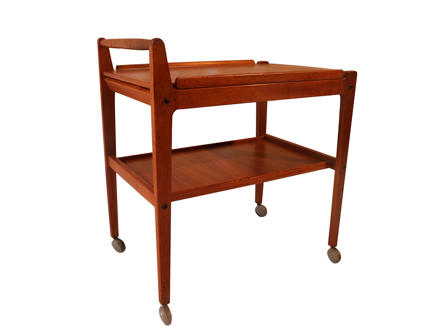 Swedish Mid Century Furniture Mid Century Teak Artie Swedish Bar Cart