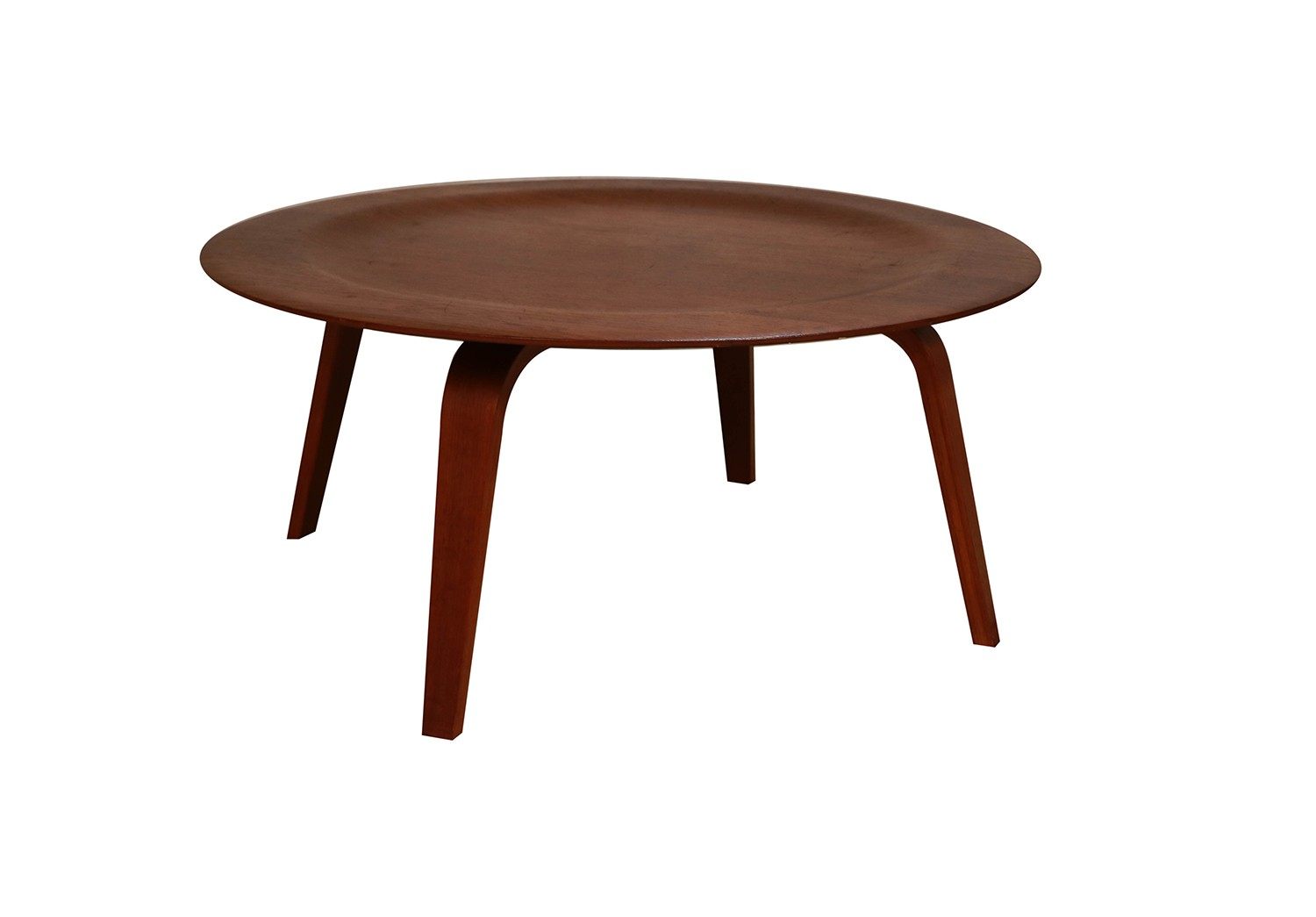 Charles Eames Charles Eames Molded Plywood Ctw Coffee Table For Herman Miller