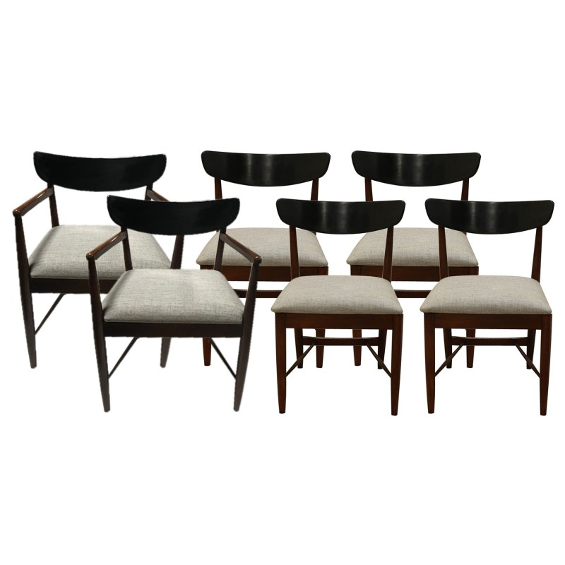 Large Of Mid Century Modern Dining Chairs