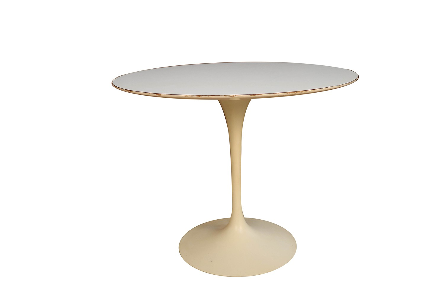 Saarinen Knoll Table Early Knoll Mid Century Vintage Round Saarinen Tulip Table