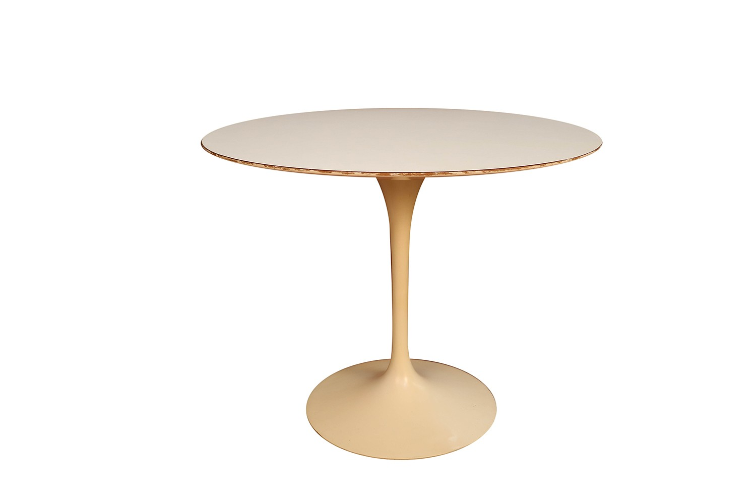 Tulip Table Early Knoll Mid Century Vintage Round Saarinen Tulip Table