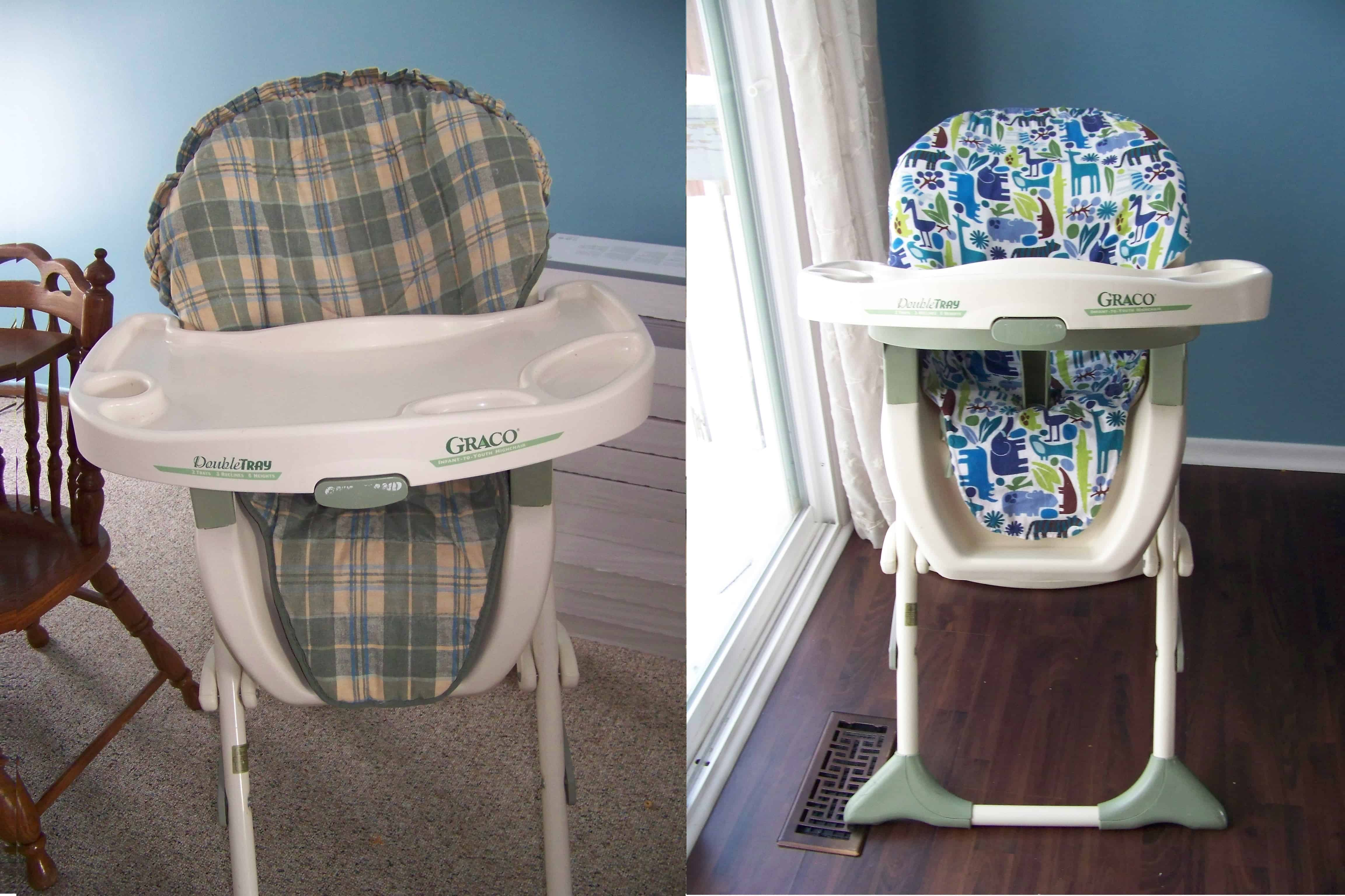 Chair Cover Diy High Chair Cover Tutorial Mary Martha Mama