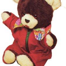 Bear & Coveralls- #874