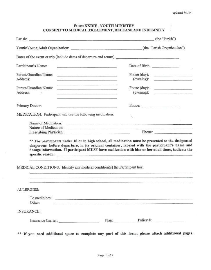Handbook, Forms  Fees - Mary MOM Youth Faith Formation