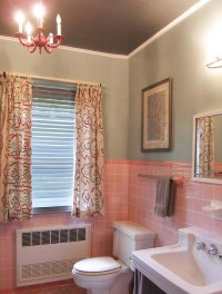 My Pink Bathroom Update   Mary Olive Design