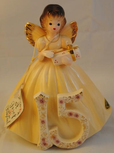 Birthday Flowers Josef Originals Figurines - Birthday Angels, Month Of Year